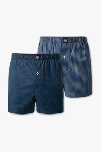Angelo Litrico         Boxershorts - Bio-Baumwolle - 2er Pack