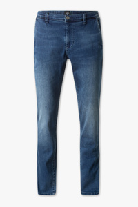 The Denim         THE TAPERED JEANS