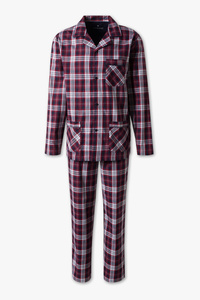 Canda         Pyjama - Bio-Baumwolle - kariert