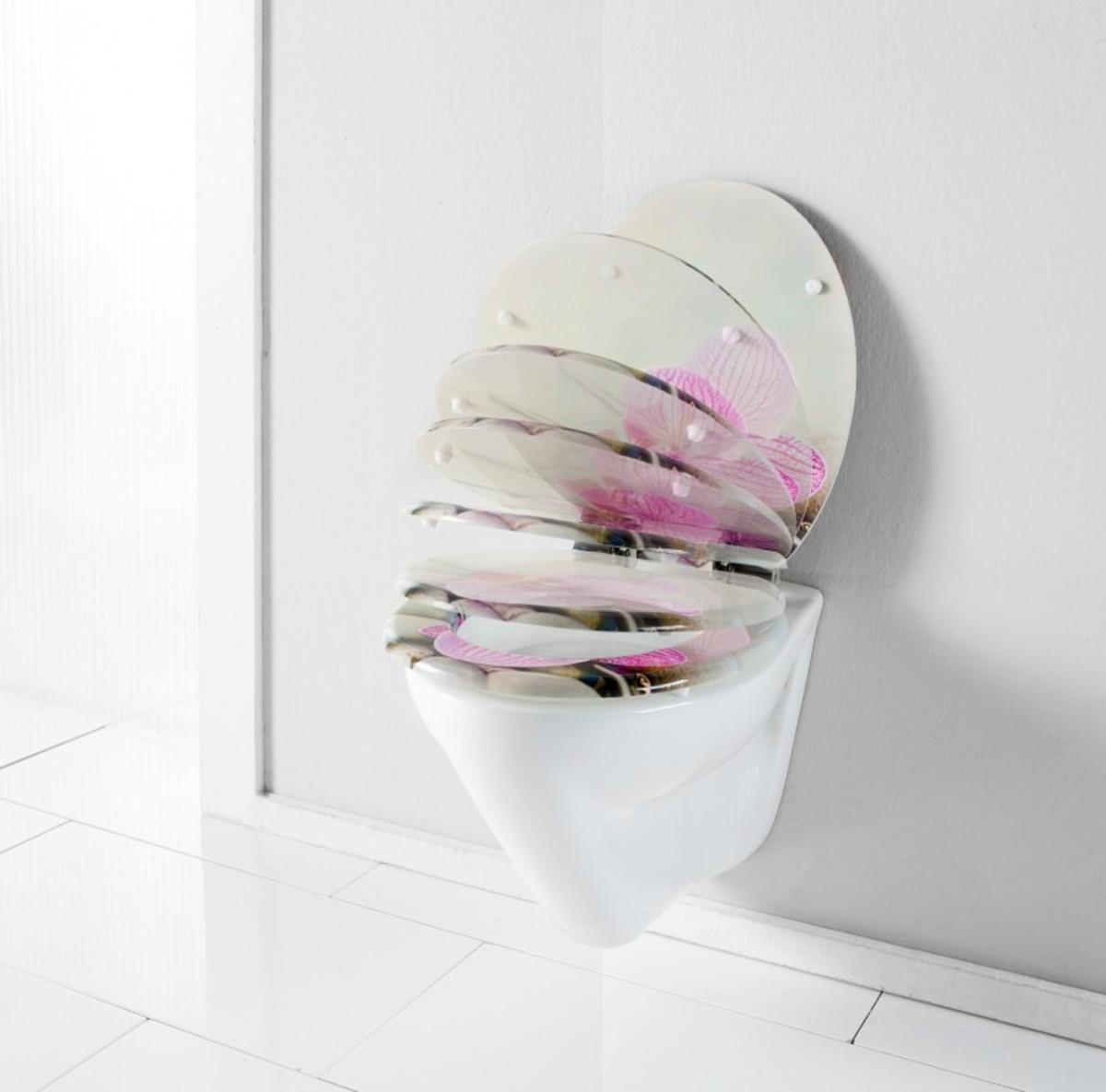 Bild 2 von badkomfort Design-WC-Sitz, Strand