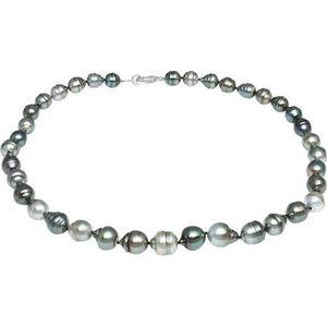 Tietzian Héritier Damen Collier mit Tahiti Zuchtperlen, 925er Silber