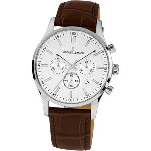 "Jacques Lemans Herren Chronograph London ""JL 1-2025B"""