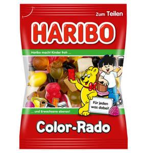 HARIBO             Color-Rado Süßwarenmischung, 200g                 (5 Stück)