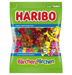 HARIBO             Bärchen-Pärchen Fruchtgummi, 175g                 (5 Stück)