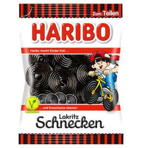 HARIBO             Lakritz Schnecken, 200g                 (5 Stück)