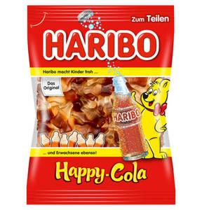 HARIBO             Happy Cola Fruchtgummi, 200g                 (5 Stück)