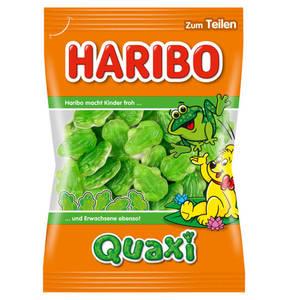 HARIBO             Quaxi Fröschli Fruchtgummi, 200g                 (5 Stück)