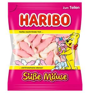 HARIBO             Süße Mäuse Schaumzucker, 200g                 (5 Stück)