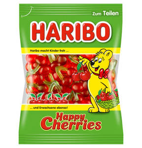 HARIBO             Happy Cherries Fruchtgummi, 200g                 (5 Stück)