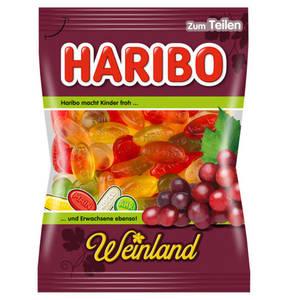 HARIBO             Weinland Weingummi, 200g                 (5 Stück)
