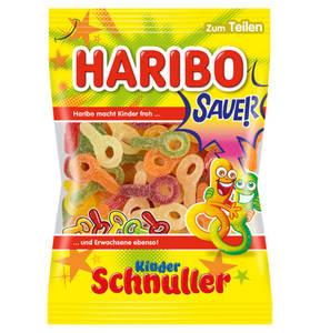 HARIBO             Saure Schnuller Fruchtgummi, 200g                 (5 Stück)