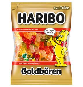 HARIBO             Goldbären Fruchtgummi, 200g                 (5 Stück)