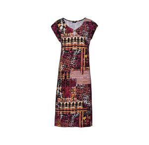 Laura Torelli Classic Damen-Kleid mit raffiniertem Design