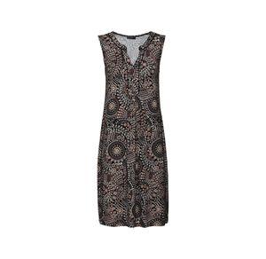 Laura Torelli Classic Damen-Kleid mit modischen Ornamenten