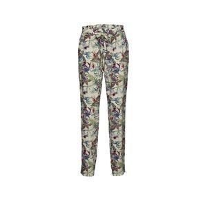 Laura Torelli COLLECTION Damen-Stoffhose mit exotischem Blumenmuster