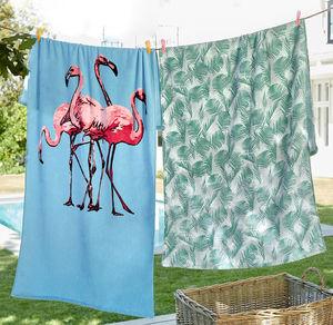 Home Strandtuch aus reiner Baumwolle, 70x150cm