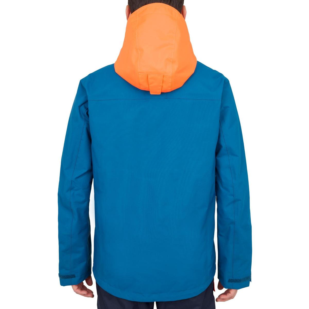 Bild 3 von Segeljacke wasserdicht Inshore 100 Herren blau/orange