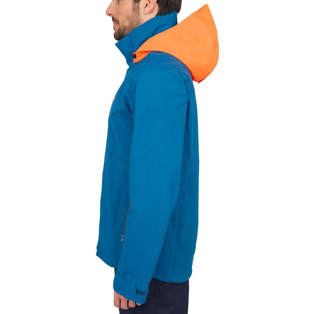 Bild 4 von Segeljacke wasserdicht Inshore 100 Herren blau/orange