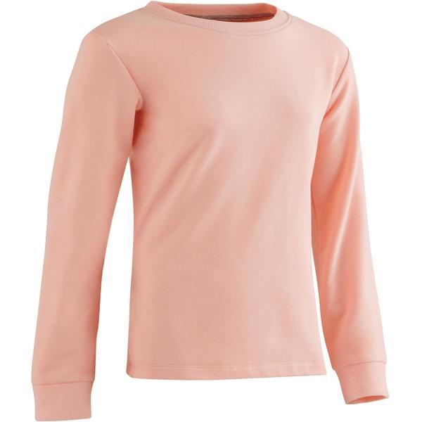 Sweatshirt 100 Gym Mädchen rosa
