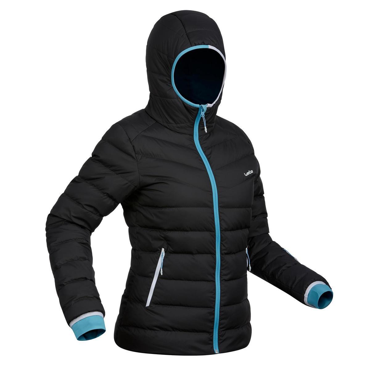 Bild 1 von Skijacke Daunen 500 Warm Damen grau