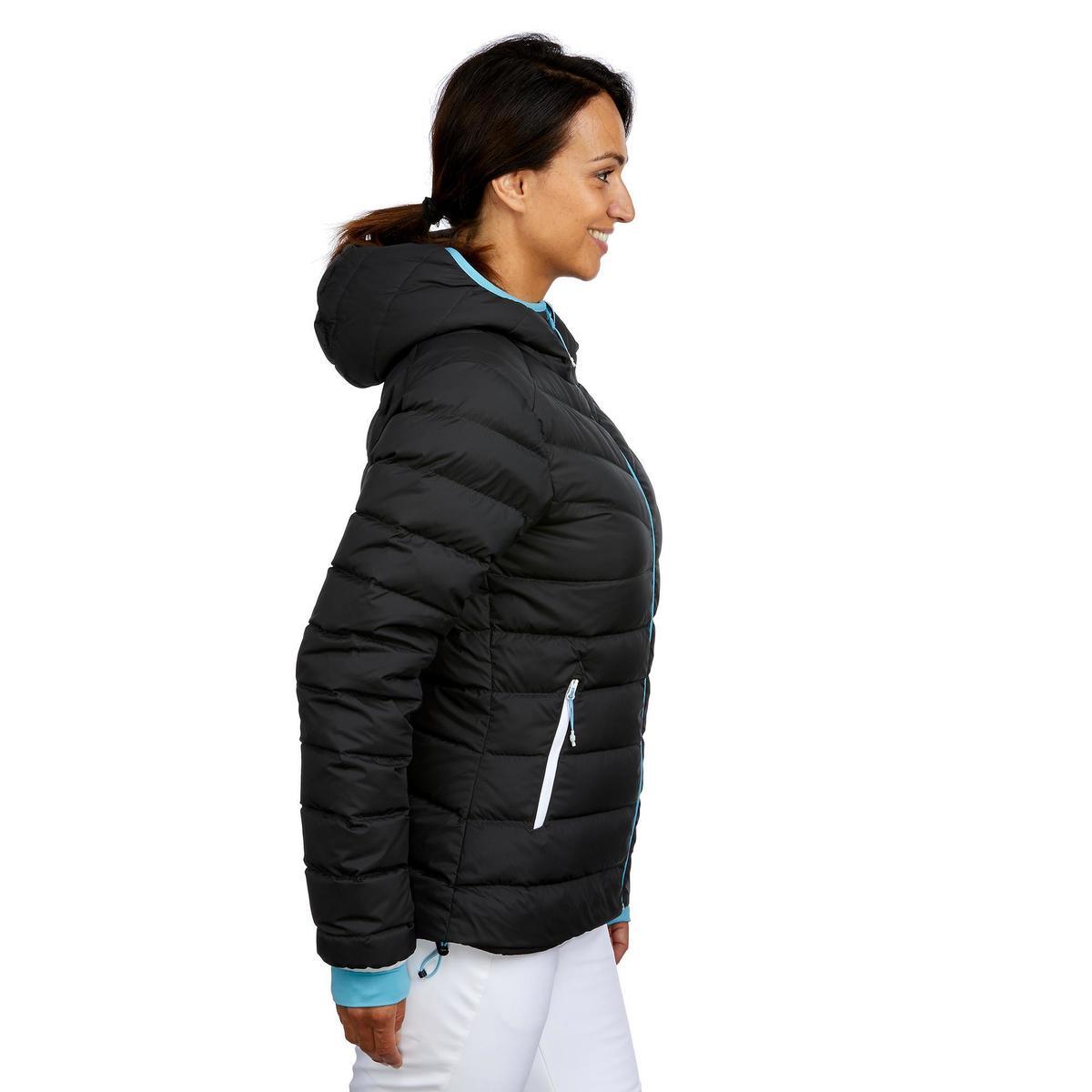 Bild 4 von Skijacke Daunen 500 Warm Damen grau