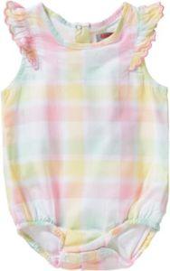 Baby Spieler mit Flügelärmeln Gr. 80 Mädchen Baby