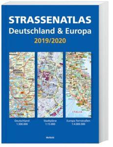 Strassenatlas D/Europa 2019/2020