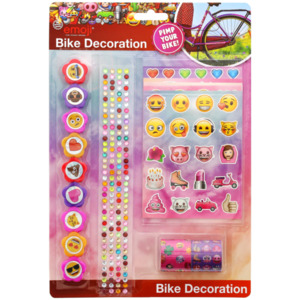 Emoji Fahrradverzierung