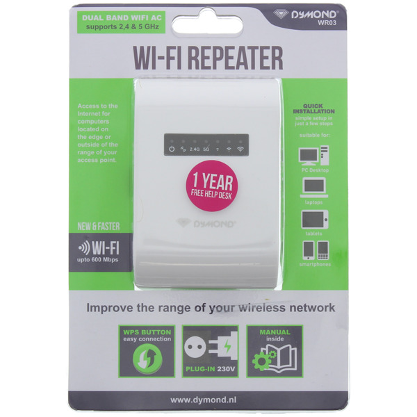 Dymond WLAN-Repeater