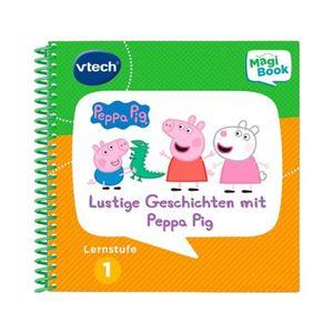 Vtech  MAGIBOOK Lernspielbuch Lernstufe 1 - Lustige Geschichten mit Peppa Pig