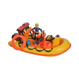 Simba  Feuerwehrmann Sam Boot Sam Neptune mit Figur