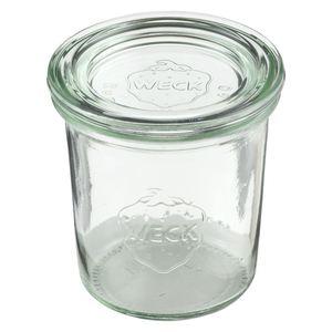 APS Weck-Glas mit Deckel 140 ml - 12 Stück