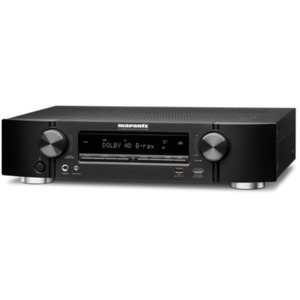 Marantz NR1509 5.2 AV Receiver 4K AirPlay WLAN Bluetooth Spotify Heos - Schwarz