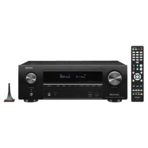 Denon AVR-X1500H 7.2 AV Receiver Schwarz BT WLAN HEOS Amazon Alexa