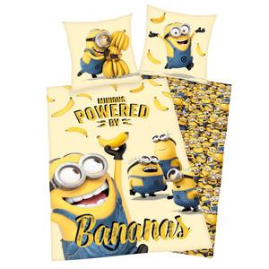 Lizenz Bettwäsche Minion's Bananas