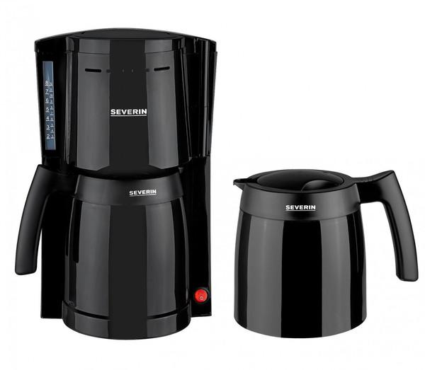 Severin Kaffeeautomat mit 2 Thermokannen KA 9234-114