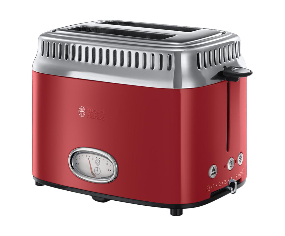 Bild 1 von Russell Hobbs Retro Ribbon Red Toaster