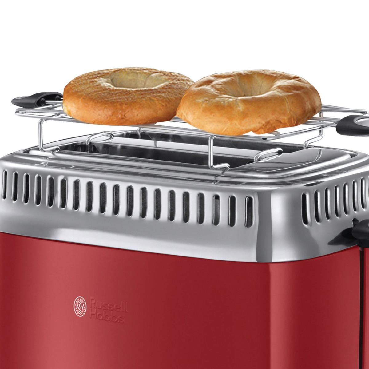 Bild 5 von Russell Hobbs Retro Ribbon Red Toaster
