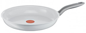 Tefal Pfanne Ceramic Control White Induction