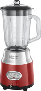 Russell Hobbs Retro Ribbon Red Glas-Standmixer