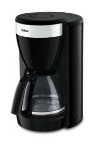 Tefal Glas-Kaffeemaschine Delfini Plus, schwarz