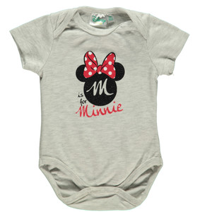 Baby Body mit Minnie Mouse Print