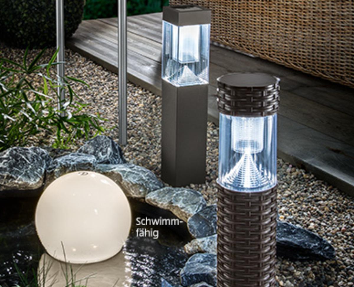 Bild 2 von CASA Deco Solar-Gartenleuchte