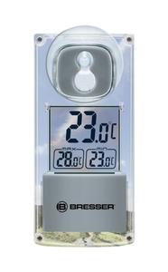 Bresser® Solar Fenster Thermometer - mit Saugnapf