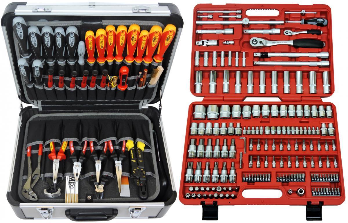 Bild 1 von FAMEX 414-09 Werkzeugkoffer Komplettset