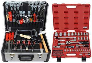 FAMEX 420-21 Alu Werkzeugkoffer Set