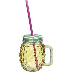 IDEENWELT 2er Set Trinkgläser Ananas