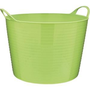 IDEENWELT Flexi-Gartenkorb grün