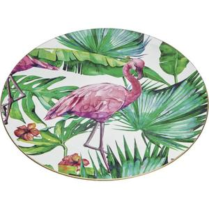 IDEENWELT Dekoteller Flamingo