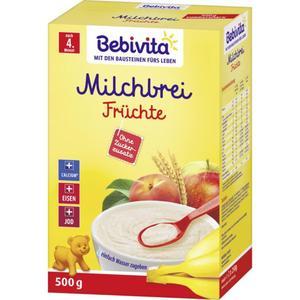 Bebivita Milchbrei Früchte nach dem 4. Monat 5.90 EUR/1 kg
